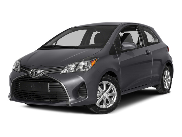 Magnetic Gray Metallic 2015 Toyota Yaris Pictures Yaris Hatchback 3D LE I4 photos front view
