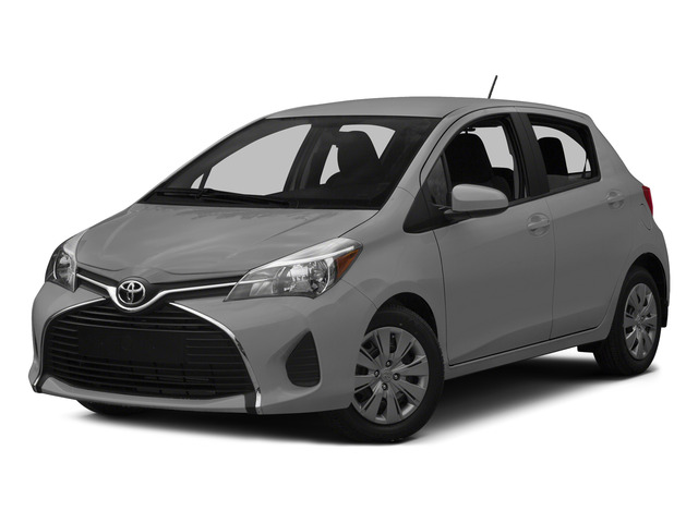Classic Silver Metallic 2015 Toyota Yaris Pictures Yaris Hatchback 5D SE I4 photos front view