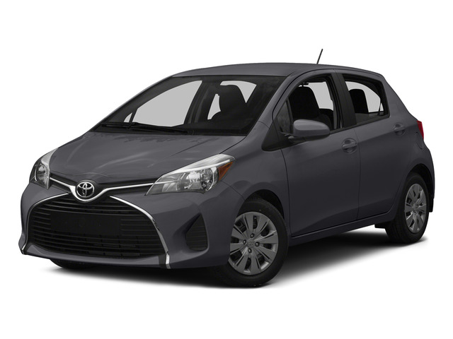 Magnetic Gray Metallic 2015 Toyota Yaris Pictures Yaris Hatchback 5D SE I4 photos front view