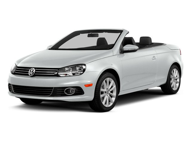 Pure White 2015 Volkswagen Eos Pictures Eos Convertible 2D Komfort I4 Turbo photos front view
