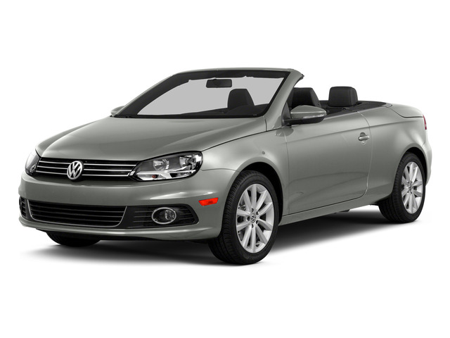 Reflex Silver Metallic 2015 Volkswagen Eos Pictures Eos Convertible 2D Komfort I4 Turbo photos front view