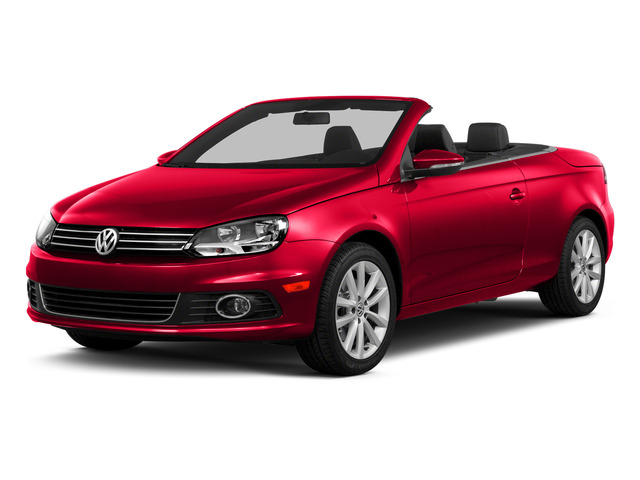 Flash Red 2015 Volkswagen Eos Pictures Eos Convertible 2D Komfort I4 Turbo photos front view
