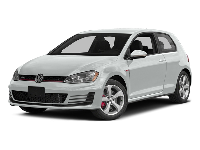 Pure White 2015 Volkswagen Golf GTI Pictures Golf GTI Hatchback 2D S I4 Turbo photos front view