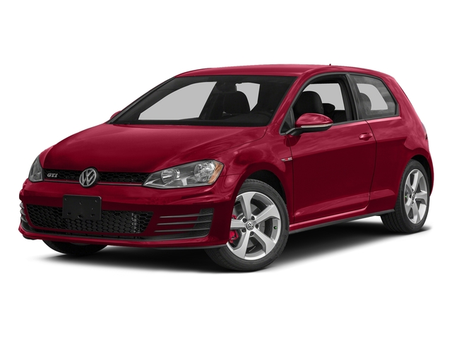 Tornado Red 2015 Volkswagen Golf GTI Pictures Golf GTI Hatchback 2D S I4 Turbo photos front view