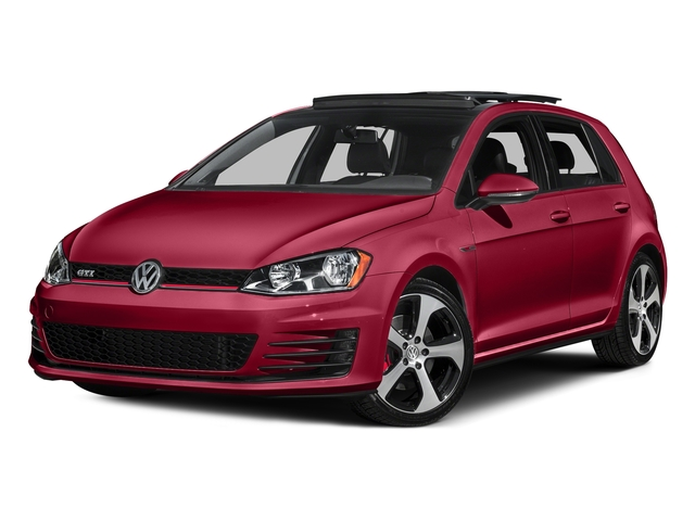 Tornado Red 2015 Volkswagen Golf GTI Pictures Golf GTI Hatchback 4D S I4 Turbo photos front view