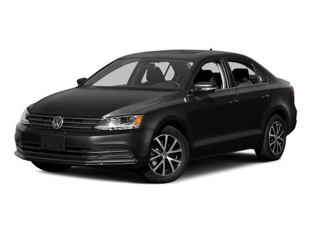 Black 2015 Volkswagen Jetta Sedan Pictures Jetta Sedan 4D SEL I4 Turbo photos front view