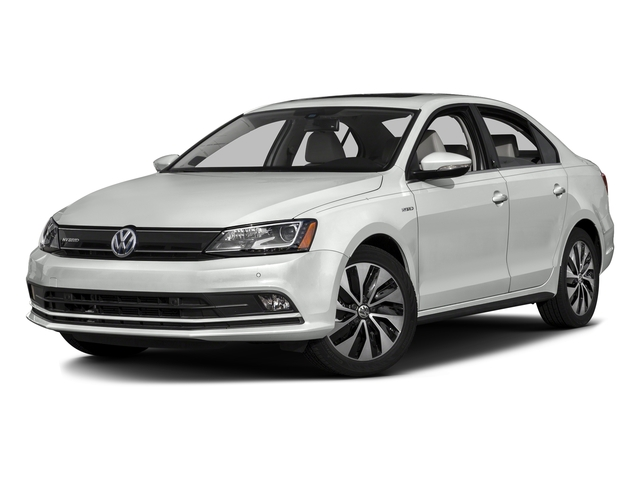 Oryx White Pearl 2015 Volkswagen Jetta Sedan Pictures Jetta Sedan 4D SEL I4 Turbo Hybrid photos front view