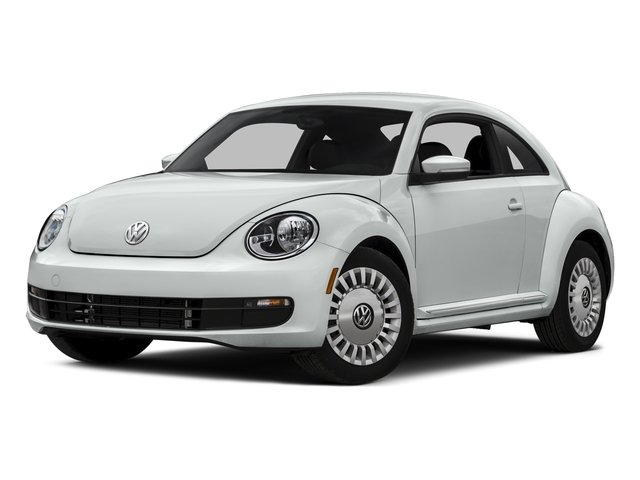 Pure White 2015 Volkswagen Beetle Coupe Pictures Beetle Coupe 2D 1.8T Entry I4 Turbo photos front view