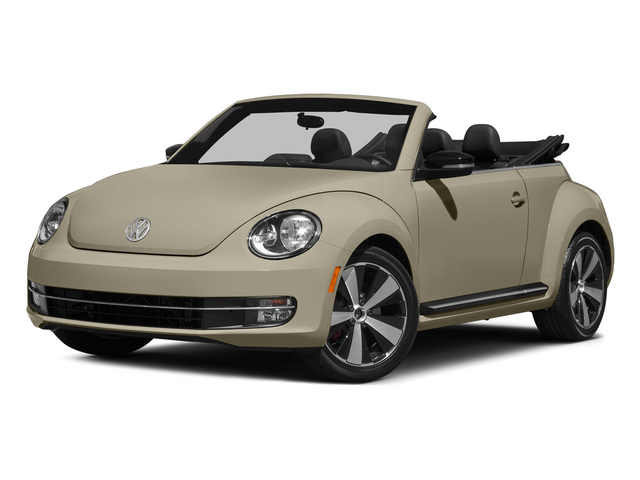Moonrock Silver Metallic/Black Roof 2015 Volkswagen Beetle Convertible Pictures Beetle Convertible Convertible 2D TDI I4 photos front view