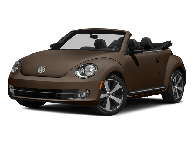 Toffee Brown Metallic/Beige Roof 2015 Volkswagen Beetle Convertible Pictures Beetle Convertible Convertible 2D TDI I4 photos front view