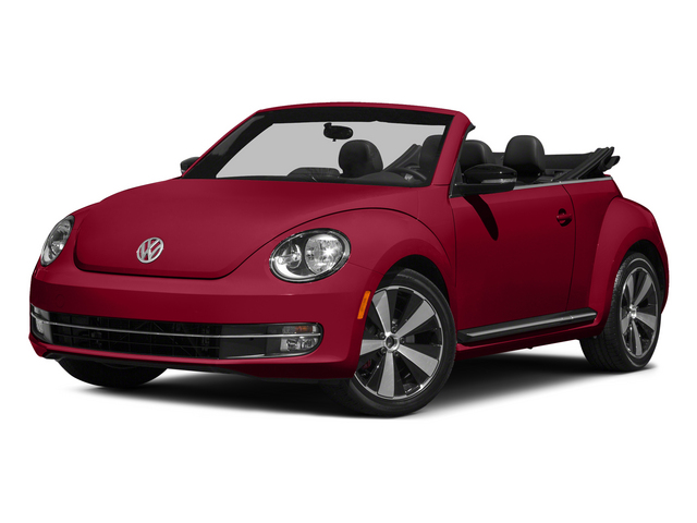 Tornado Red/Black Roof 2015 Volkswagen Beetle Convertible Pictures Beetle Convertible Convertible 2D R-Line I4 Turbo photos front view
