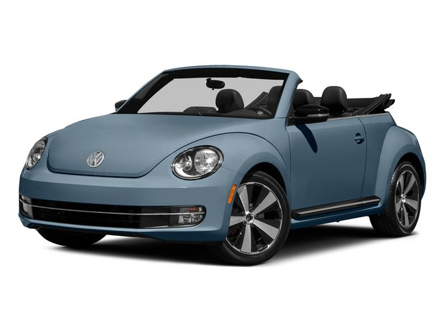 Denim Blue/Black Roof 2015 Volkswagen Beetle Convertible Pictures Beetle Convertible Convertible 2D TDI I4 photos front view