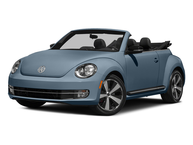 Denim Blue/Black Roof 2015 Volkswagen Beetle Convertible Pictures Beetle Convertible Convertible 2D R-Line I4 Turbo photos front view