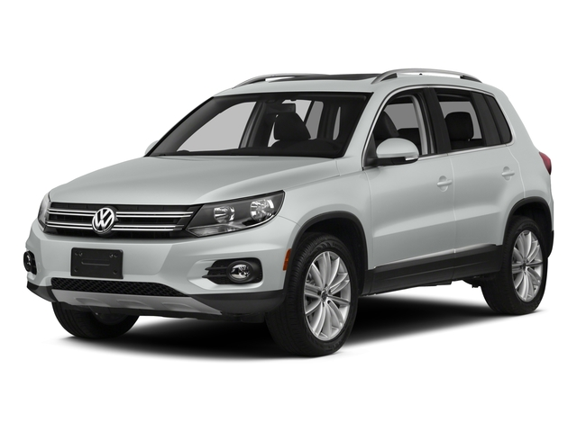 Pure White 2015 Volkswagen Tiguan Pictures Tiguan Utility 4D R-Line AWD I4 Turbo photos front view