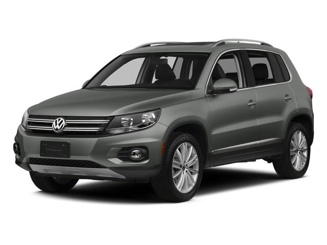 Pepper Gray Metallic 2015 Volkswagen Tiguan Pictures Tiguan Utility 4D R-Line AWD I4 Turbo photos front view