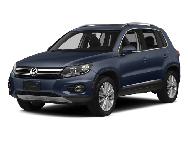 Night Blue Metallic 2015 Volkswagen Tiguan Pictures Tiguan Utility 4D R-Line AWD I4 Turbo photos front view
