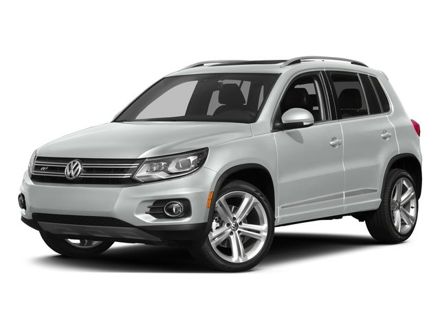Pure White 2015 Volkswagen Tiguan Pictures Tiguan Utility 4D R-Line 2WD I4 Turbo photos front view