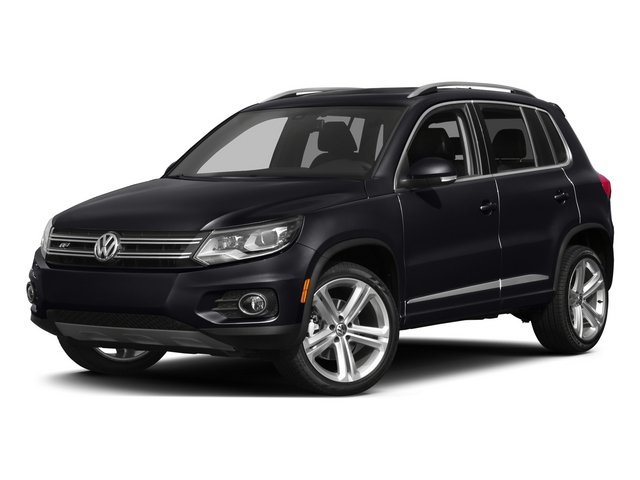 Deep Black Pearl 2015 Volkswagen Tiguan Pictures Tiguan Utility 4D R-Line 2WD I4 Turbo photos front view