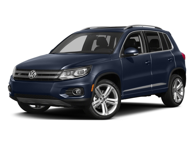 Night Blue Metallic 2015 Volkswagen Tiguan Pictures Tiguan Utility 4D R-Line 2WD I4 Turbo photos front view