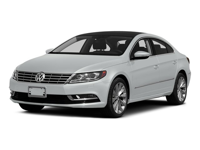 Pure White 2015 Volkswagen CC Pictures CC Sedan 4D Sport I4 Turbo photos front view