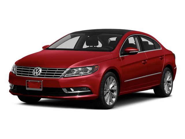 Fortana Red 2015 Volkswagen CC Pictures CC Sedan 4D Sport I4 Turbo photos front view