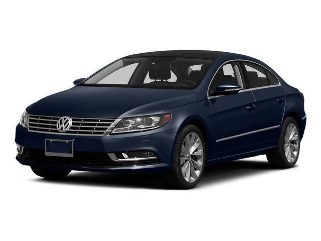 Night Blue Metallic 2015 Volkswagen CC Pictures CC Sedan 4D Sport I4 Turbo photos front view