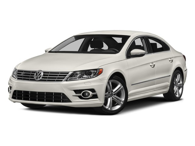 Pure White 2015 Volkswagen CC Pictures CC Sedan 4D R-Line I4 Turbo photos front view