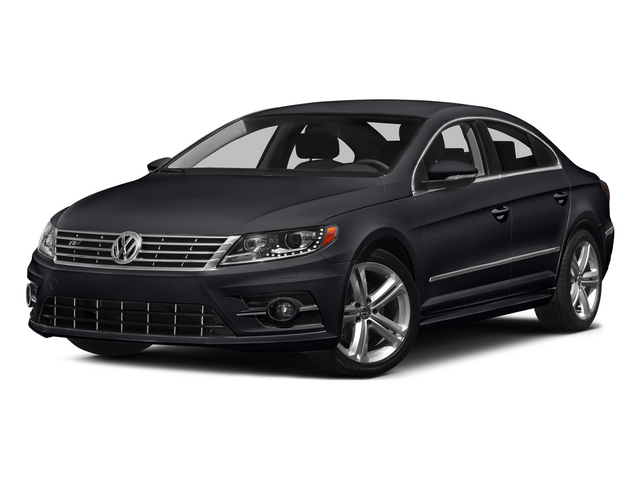 Deep Black Pearl 2015 Volkswagen CC Pictures CC Sedan 4D R-Line I4 Turbo photos front view