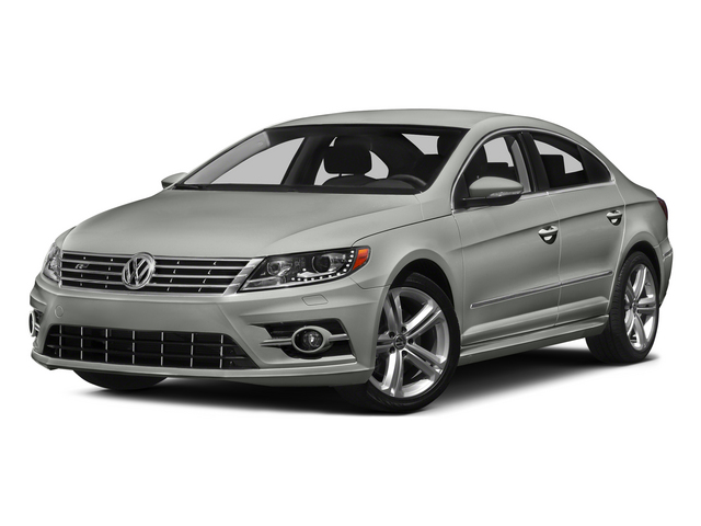 Reflex Silver Metallic 2015 Volkswagen CC Pictures CC Sedan 4D R-Line I4 Turbo photos front view