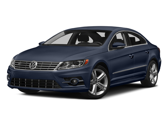 Night Blue Metallic 2015 Volkswagen CC Pictures CC Sedan 4D R-Line I4 Turbo photos front view