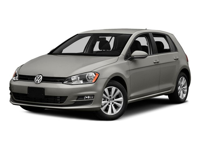 Tungsten Silver Metallic 2015 Volkswagen Golf Pictures Golf Hatchback 4D SEL I4 Turbo photos front view
