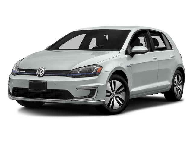 Pure White 2015 Volkswagen e-Golf Pictures e-Golf Hatchback 4D e-Golf Electric photos front view