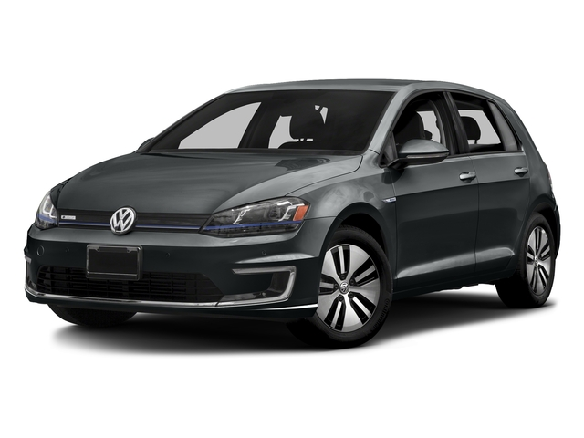 Urano Gray Metallic 2015 Volkswagen e-Golf Pictures e-Golf Hatchback 4D e-Golf Electric photos front view