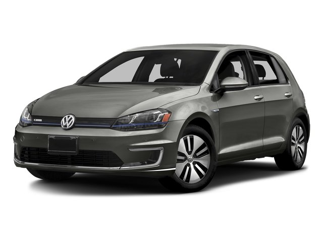 Limestone Gray 2015 Volkswagen e-Golf Pictures e-Golf Hatchback 4D e-Golf Electric photos front view