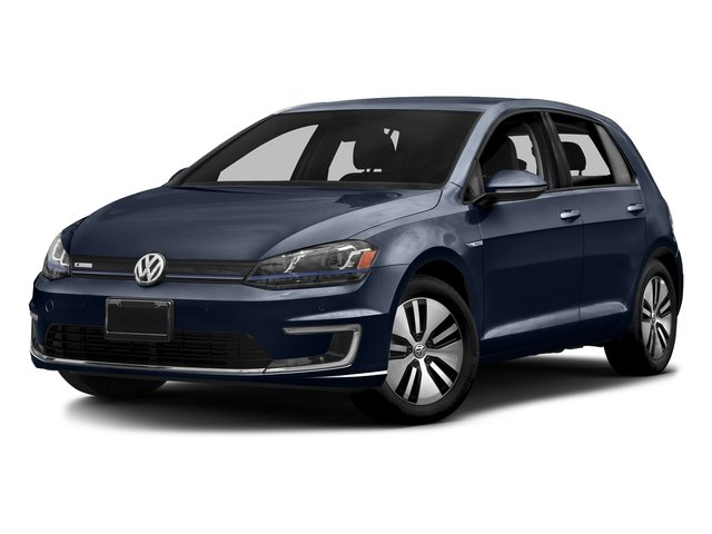 Night Blue Metallic 2015 Volkswagen e-Golf Pictures e-Golf Hatchback 4D e-Golf Electric photos front view