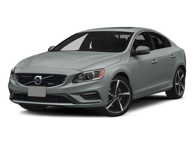 Electric Silver Metallic 2015 Volvo S60 Pictures S60 Sedan 4D T6 Platinum R-Design AWD photos front view