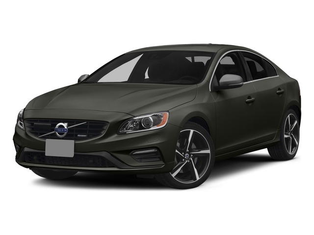 Savile Gray Metallic 2015 Volvo S60 Pictures S60 Sedan 4D T6 Platinum R-Design AWD photos front view