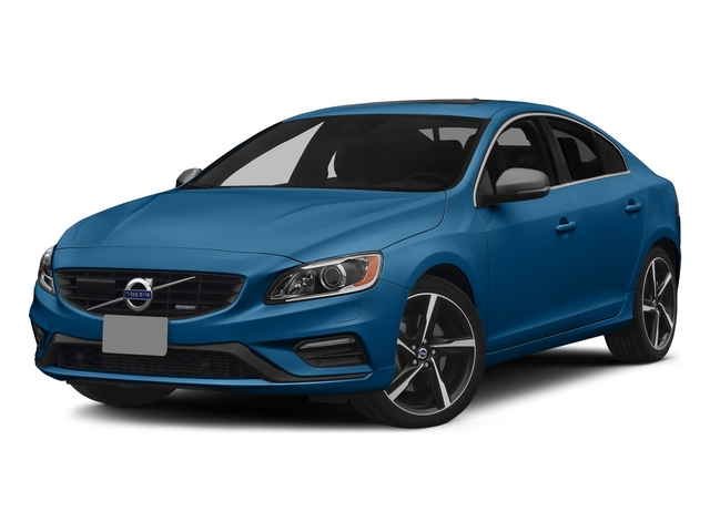 Rebel Blue 2015 Volvo S60 Pictures S60 Sedan 4D T6 Platinum R-Design AWD photos front view