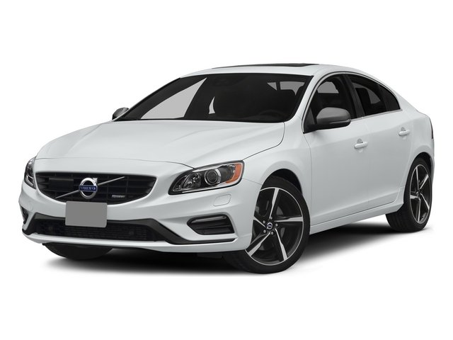 Crystal White Pearl 2015 Volvo S60 Pictures S60 Sedan 4D T6 Platinum R-Design AWD photos front view