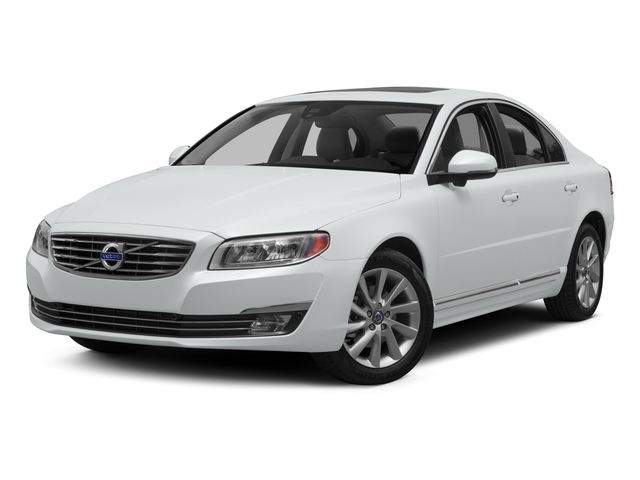 Crystal White Pearl 2015 Volvo S80 Pictures S80 Sedan 4D T6 Platinum AWD Turbo photos front view