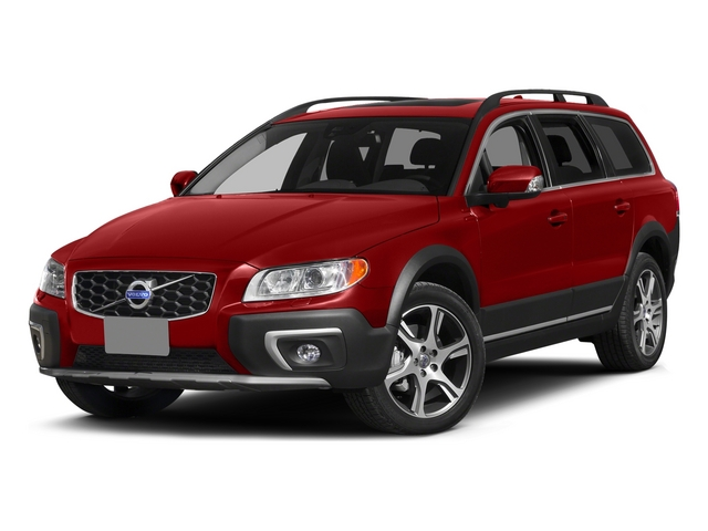 Flaminco Red Metallic 2015 Volvo XC70 Pictures XC70 Wagon 4D T6 Platinum AWD Turbo photos front view
