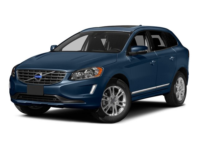 Caspian Blue Metallic 2015 Volvo XC60 Pictures XC60 Utility 4D T5 Platinum AWD I5 Turbo photos front view
