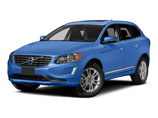 Power Blue Metallic 2015 Volvo XC60 Pictures XC60 Utility 4D T5 Platinum AWD I5 Turbo photos front view
