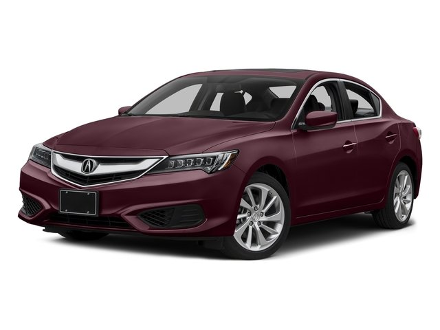 Basque Red Pearl II 2016 Acura ILX Pictures ILX Sedan 4D Premium I4 photos front view