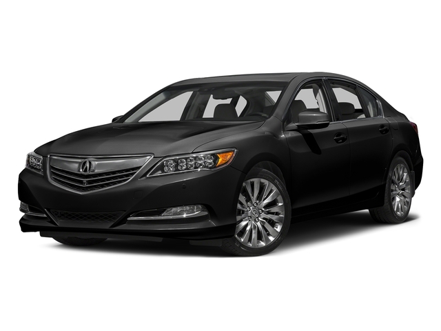 Crystal Black Pearl 2016 Acura RLX Pictures RLX Sedan 4D Advance V6 photos front view
