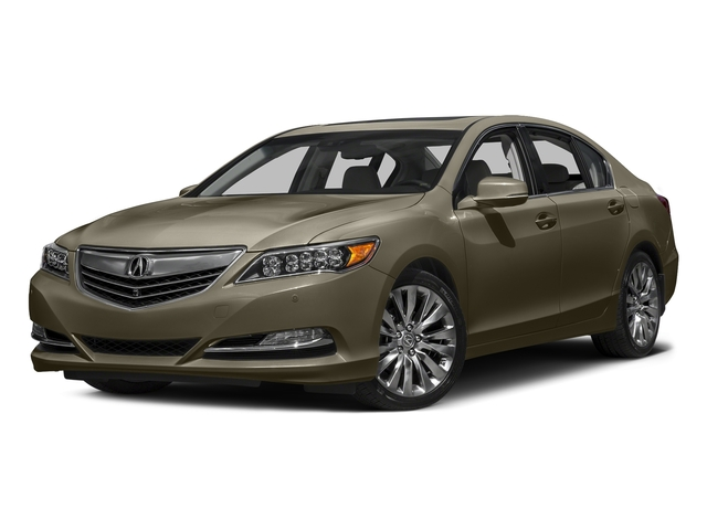 Gilded Pewter Metallic 2016 Acura RLX Pictures RLX Sedan 4D Advance V6 photos front view