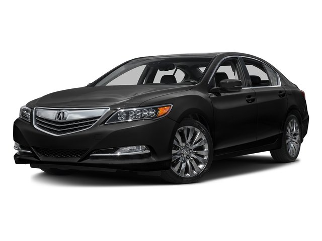 Crystal Black Pearl 2016 Acura RLX Pictures RLX Sedan 4D Technology V6 photos front view