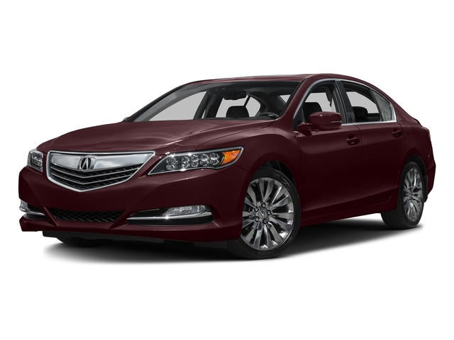 Pomegranate Pearl 2016 Acura RLX Pictures RLX Sedan 4D Technology V6 photos front view
