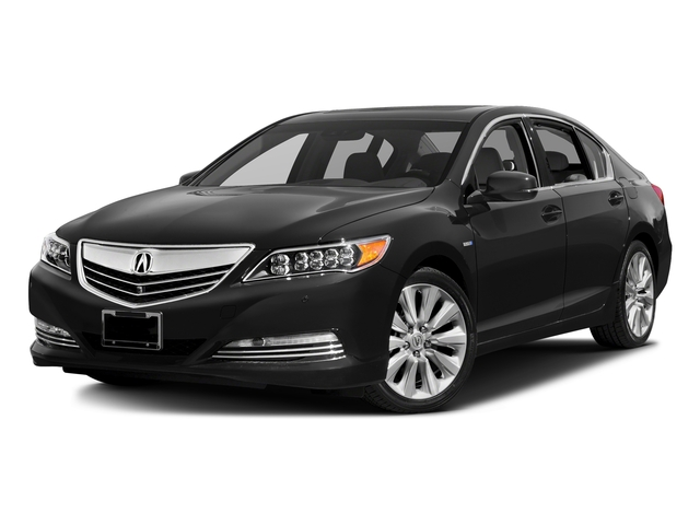 Graphite Luster Metallic 2016 Acura RLX Pictures RLX Sedan 4D Technology AWD V6 Hybrid photos front view