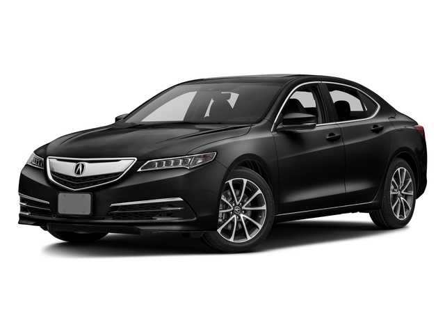 Crystal Black Pearl 2016 Acura TLX Pictures TLX Sedan 4D Technology V6 photos front view